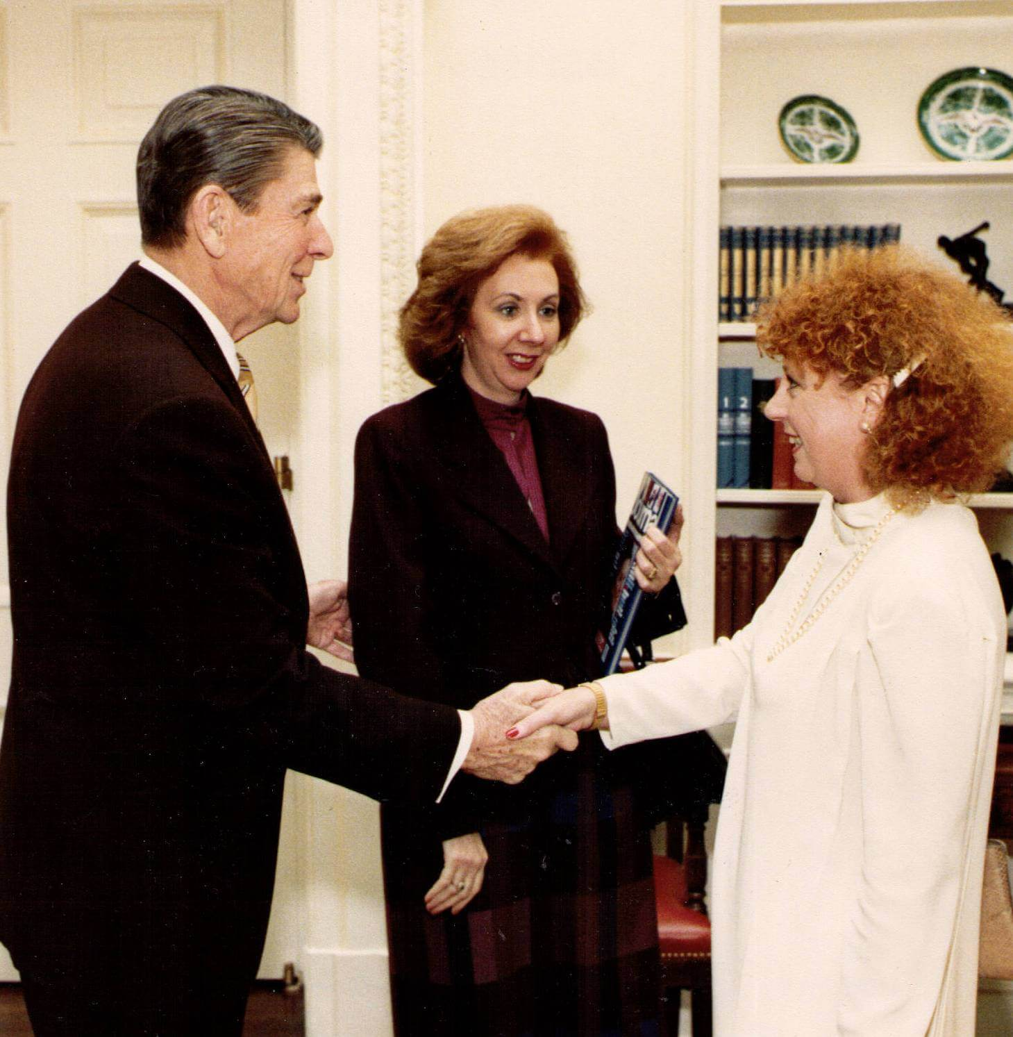 PHOTO: Jan being honored at the White House.