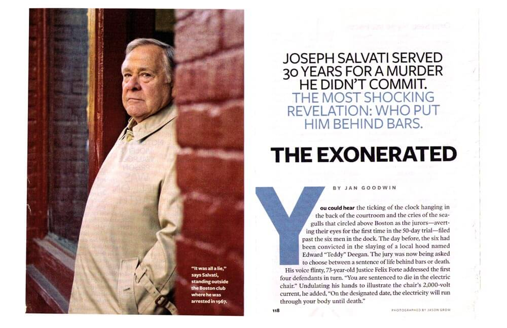 THE EXONERATED — READER'S DIGEST MAGAZINE