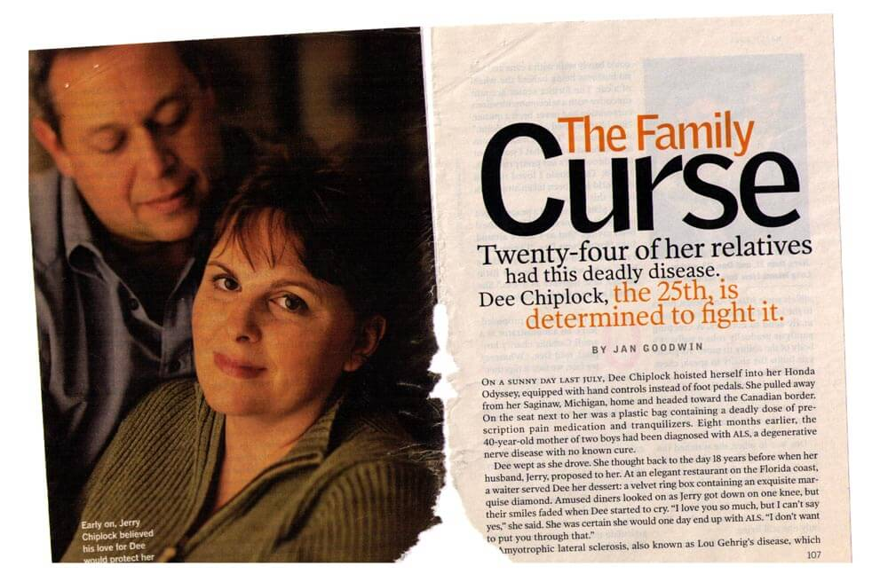 FAMILY CURSE — READER'S DIGEST MAGAZINE