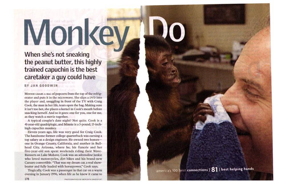 MONKEY DO — READER'S DIGEST MAGAZINE