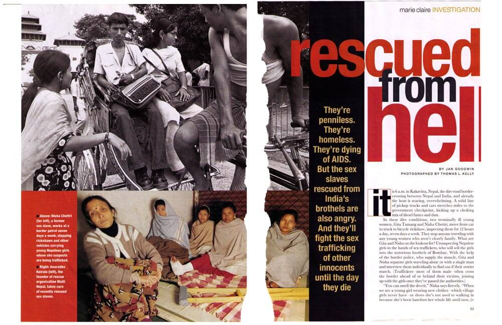 RESCUED FROM HELL — JANE MAGAZINE