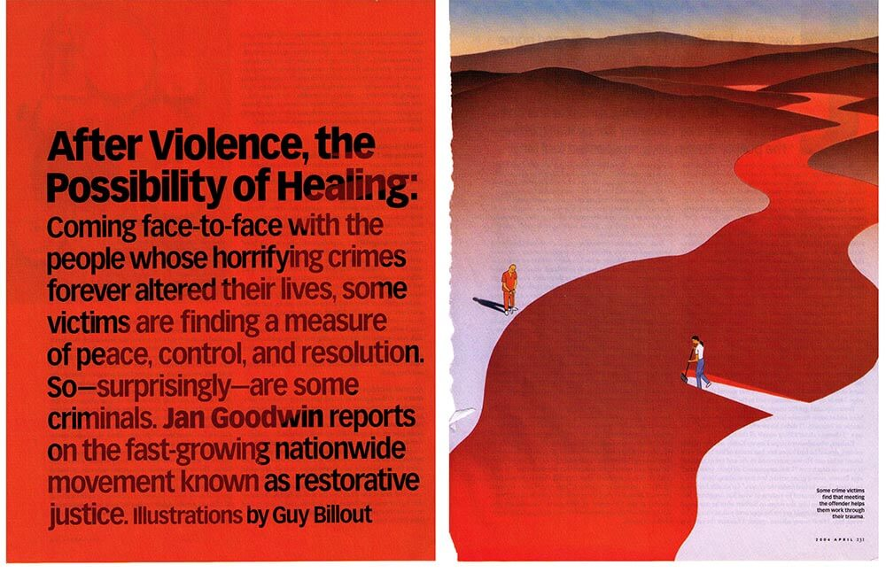 AFTER VIOLENCE — OPRAH MAGAZINE