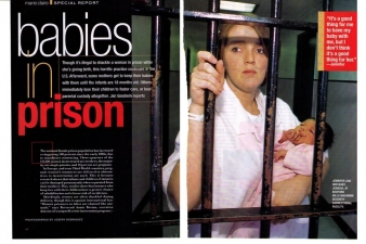 BABIES IN PRISON — MARIE-CLAIRE MAGAZINE