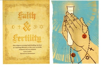 FAITH AND FERTILITY — CONCEIVE MAGAZINE