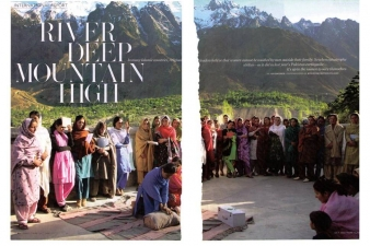 RIVER DEEP, MOUNTAIN HIGH — MARIE-CLAIRE MAGAZINE