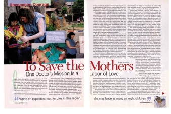 SAVE THE MOTHERS — FAMILY CIRCLE MAGAZINE