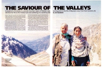 THE SAVIOUR OF THE VALLEYS — BIOGRAPHY MAGAZINE